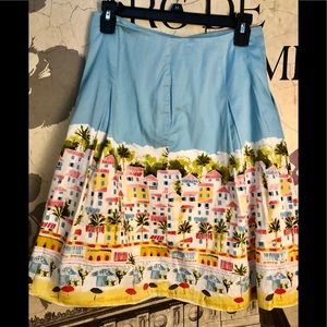 Beautiful summer skirt by Talbots in size 2P
